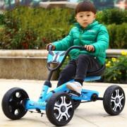 Kart cu pedale pentru copii, Albastru