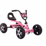 Kart cu pedale pentru copii, Roz