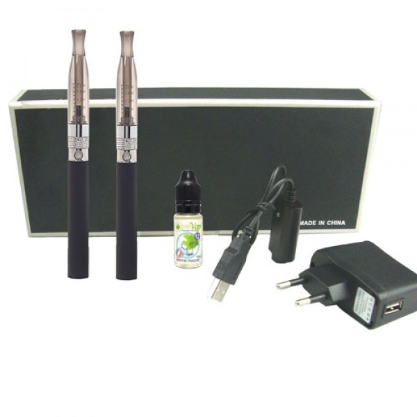Kit 2 Tigari Electronice eGo-H2 BCC 1100 mAh + 1 Lichid GRATUIT