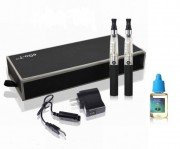 Kit 2 tigari electronice EGo-T CE4 - 1100 mah  + 1 sticluta lichid  GRATUIT