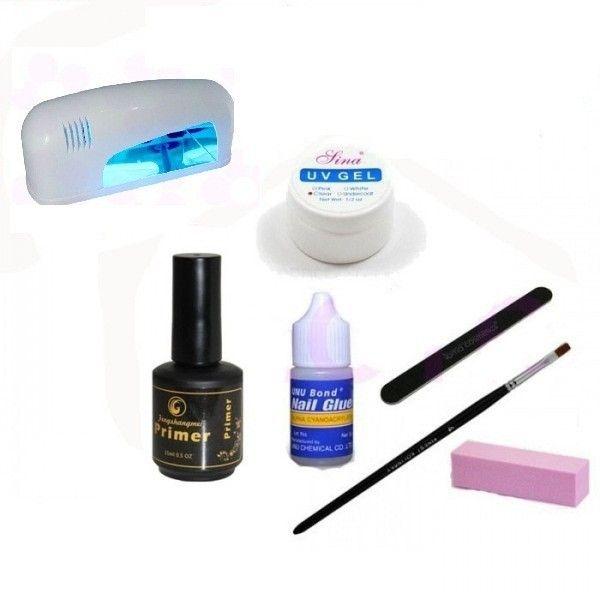 Kit Lampa UV pentru Unghii False