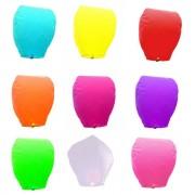 Lampioane zburatoare diverse culori