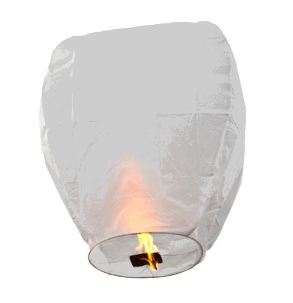 Lampion alb