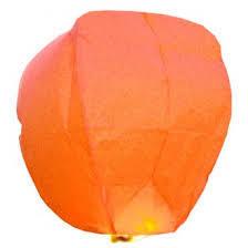 Lampion portocaliu