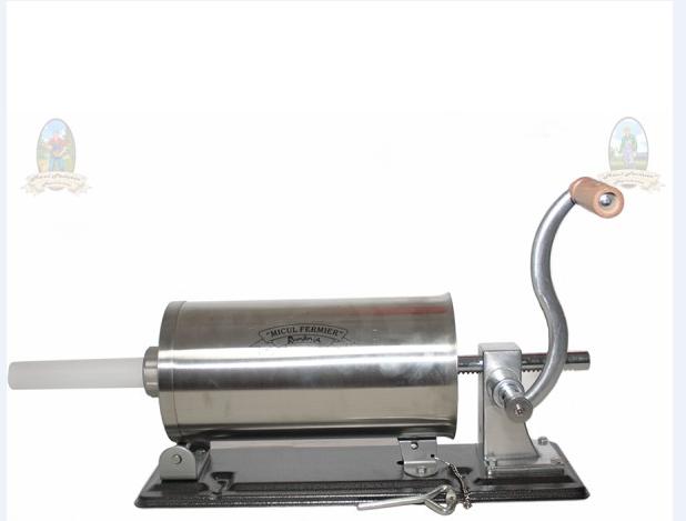 Masina de facut carnati 3 kg, Orizontal, suport,4 palnii