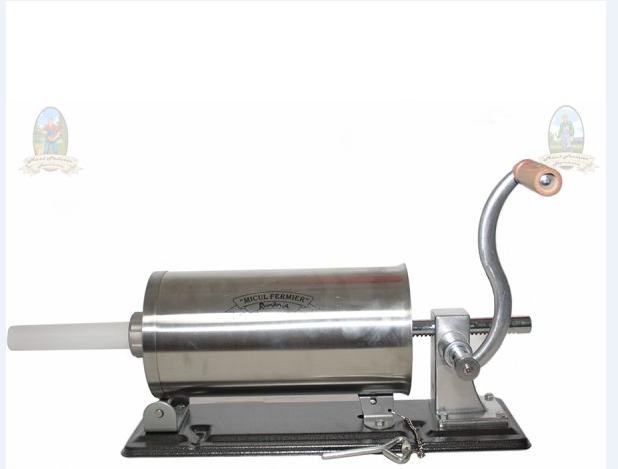 Masina de facut carnati 5.5 kg, Orizontal, suport,4 palnii