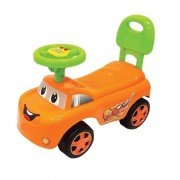 Masinuta fara pedale,muzica,portocaliu