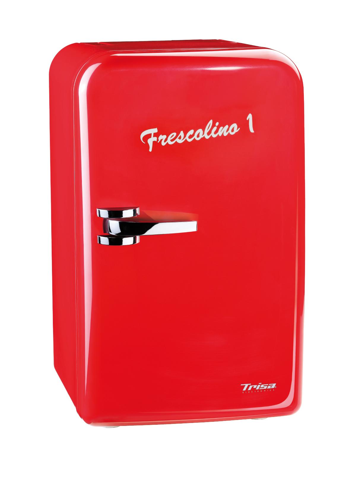 Mini frigider Trisa Frescolino Red 17L