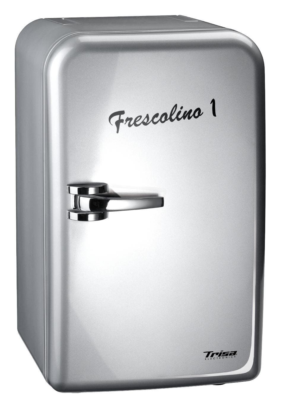 Mini frigider Trisa Frescolino Silver 17L