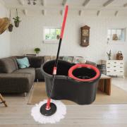Mop rotativ cu galeata,Black Edition, 15 Litri