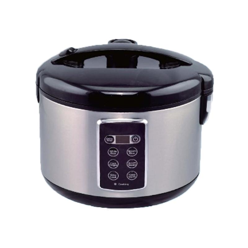 Oala Electrica Hauseberg cu Control Digital,700 W, programe gatit, Inox,1.8 Litri