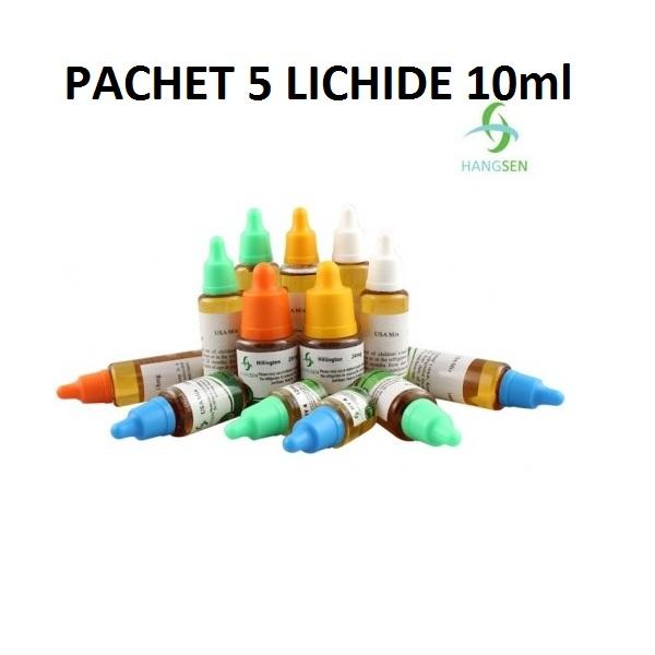 Pachet 5 lichide 10ml