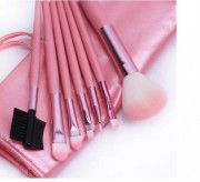 Pensule Make-Up Pink - Set 7 bucati