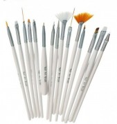 Pensule Nail Art Brush - Set 15 bucati