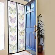 Perdea magnetica anti insecte, model Colorat, Fluturi