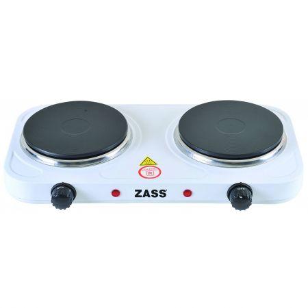 Plită Electrică dublă Zass ZHP 05A, 2000W, 2 Ochiuri