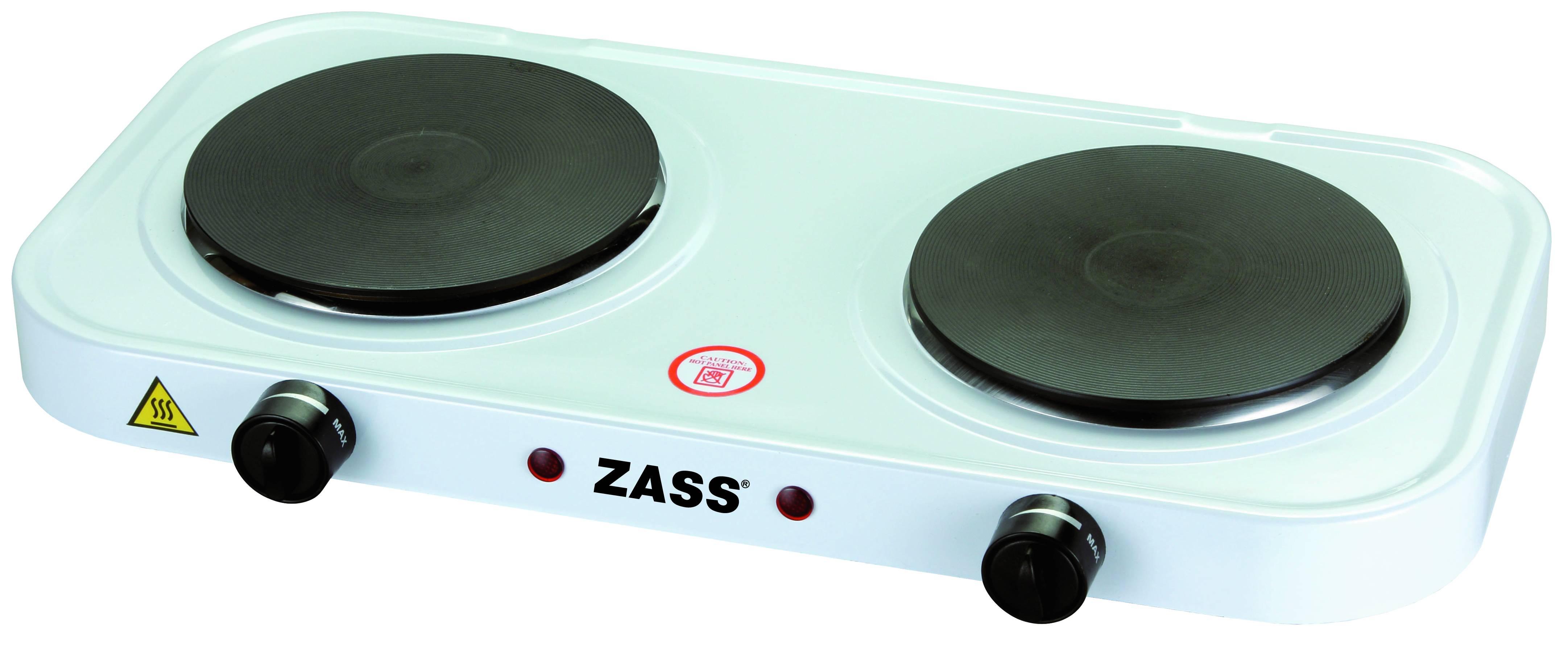 Plita electrica dubla Zass ZHP 05, 2000W, 2 ochiuri