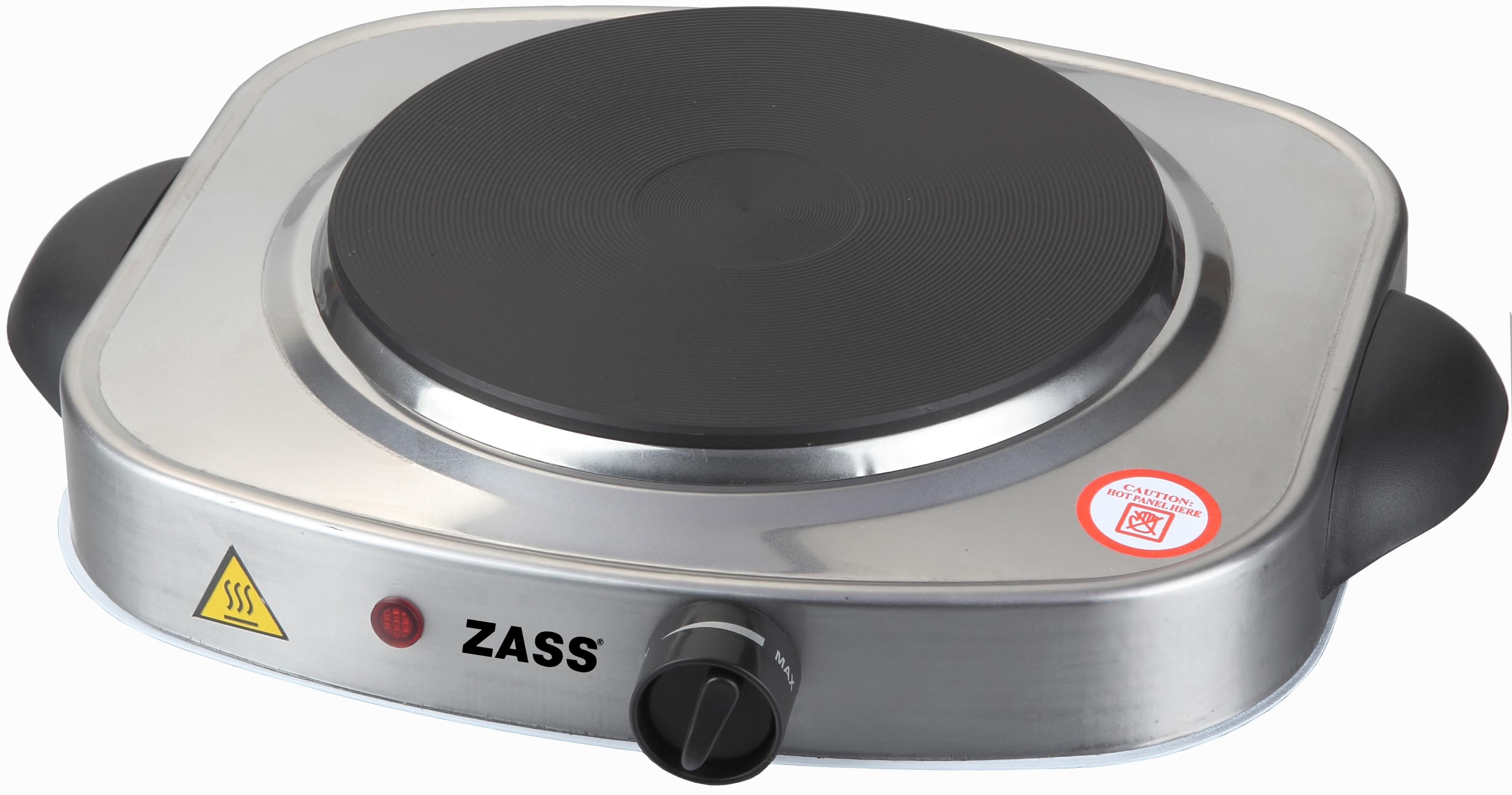 Plita electrica Zass ZHP 03, 1500W, 1 Arzator din inox