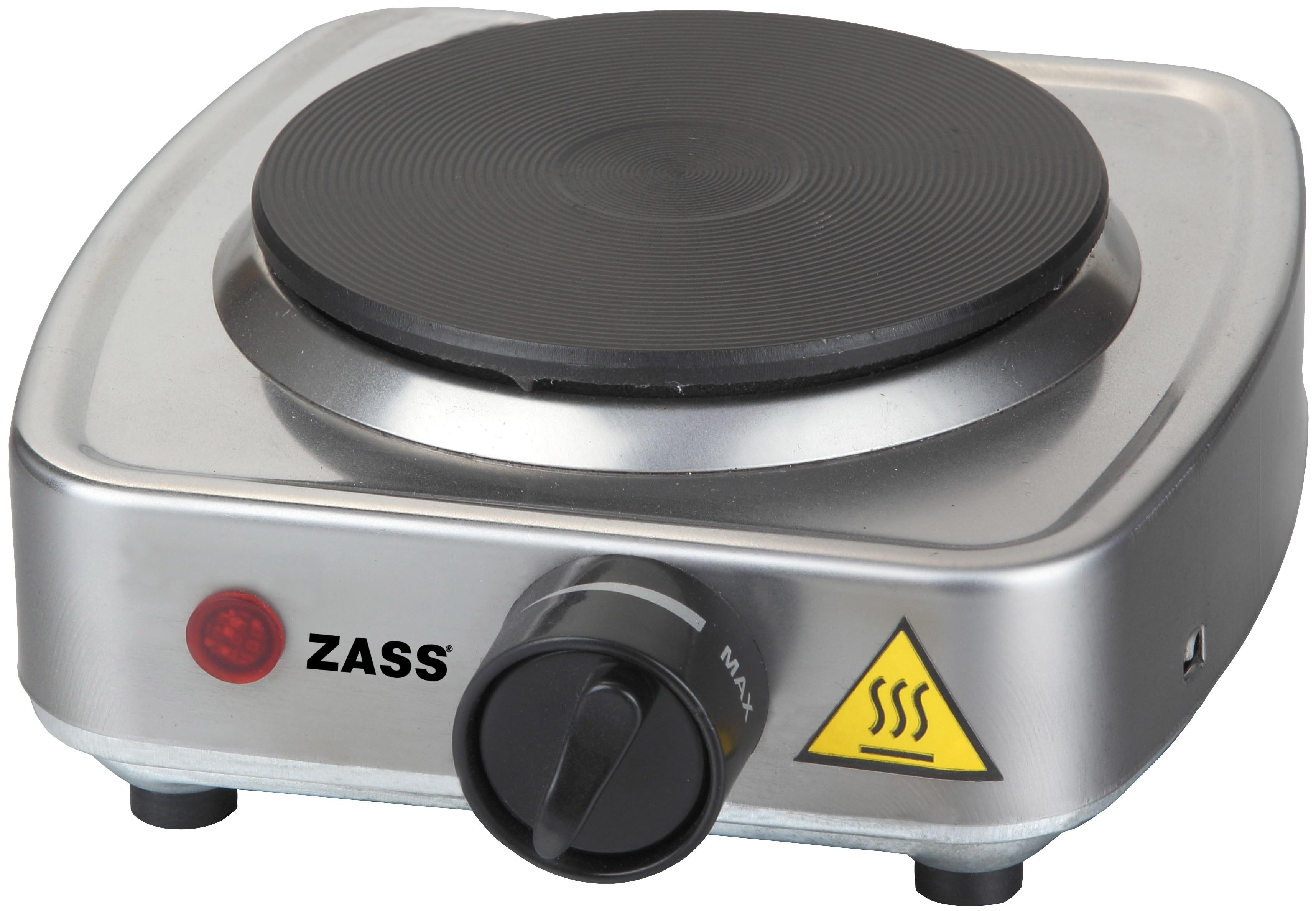Plita electrica Zass ZHP 01, 300W, 1 Arzator, inox