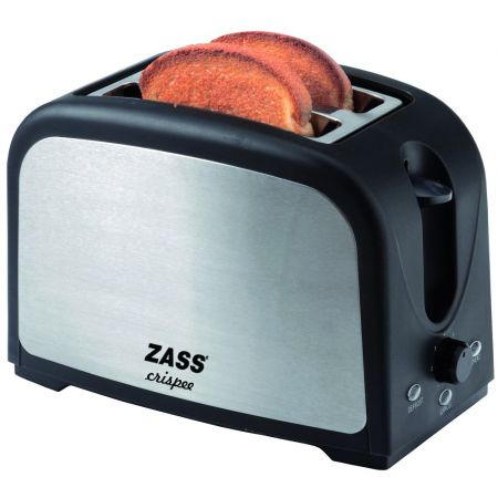Prăjitor de Pâine Zass ZST 02, 750W, 2 Felii, Inox