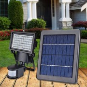 Proiector led cu panou Solar si senzor de miscare, 3W,6400K