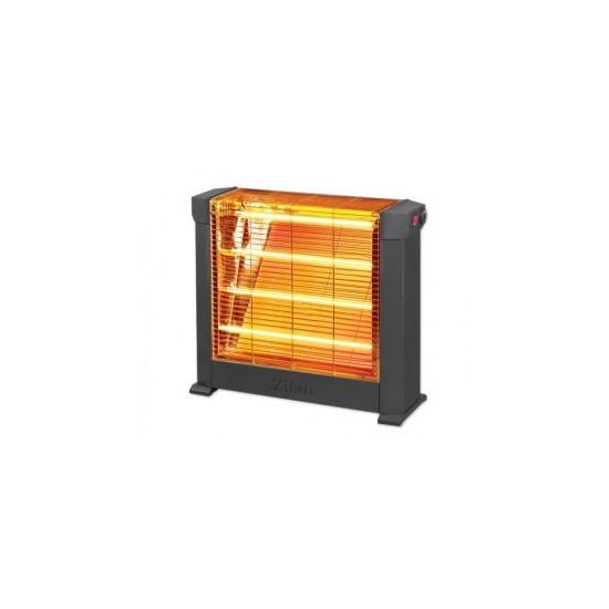 Radiator cu Quartz halogen Zilan, 2000 W, Semineu