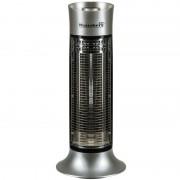 Radiator electric din fibra carbon Hausberg,900 W, 2 trepte,Exterior