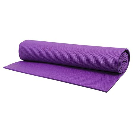 Saltea Yoga Roll-up si suprafata anti-alunecare