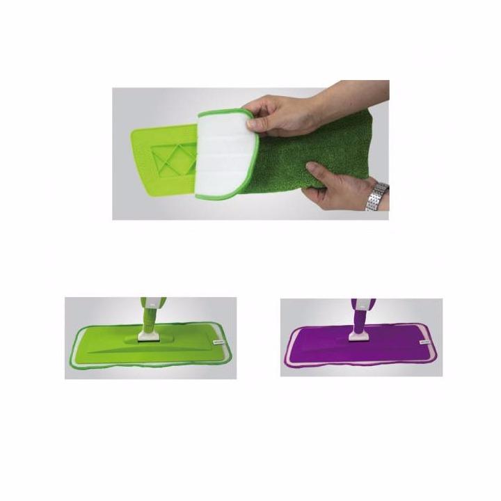 Set 2 rezerve lavete din microfibra pentru Mop cu pulverizator
