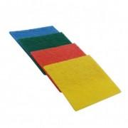 Set 4 lavete fibra abraziva 14 x 9 cm