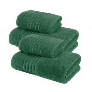 Set 4 Prosoape 100% bumbac,550gr/m2,fir dublu,verde