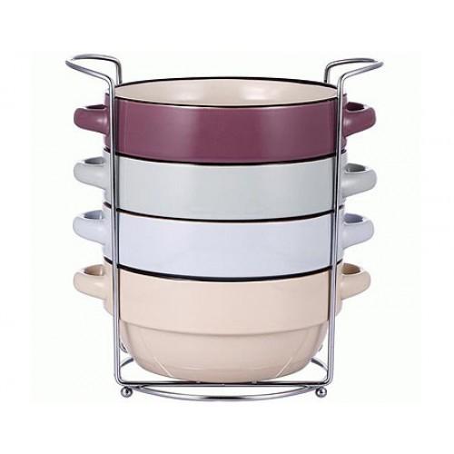 Set boluri pentru supa din ceramica