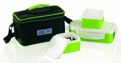 Set caserole termos cu geanta termica,4 piese