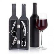 Set 5 accesorii Peterhof pentru vin in forma de sticla