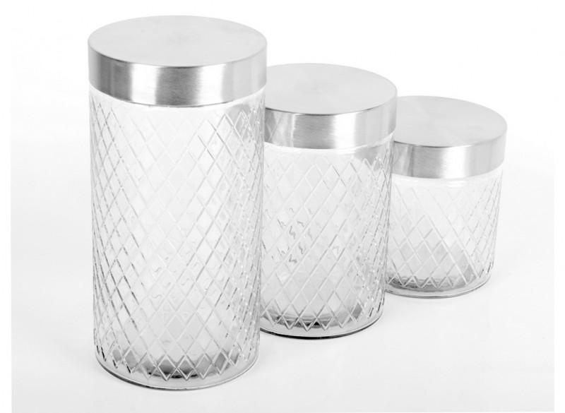 Set Recipiente Sticlă DK-89036