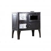 Soba pe lemne cu plita si cuptor 80X45X80 cm