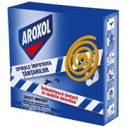 Spirale Aroxol impotriva tantarilor 10 buc+2 suport metalice