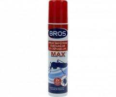 Spray Bros impotriva tantarilor si capuselor, 90 ml