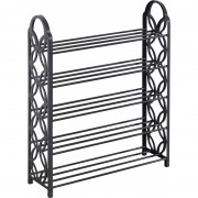 Suport pentru incaltaminte cu 5 rafturi,metal si plastic,62 x 21x 76 cm
