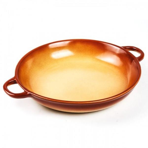 Tava ceramica de copt ovala