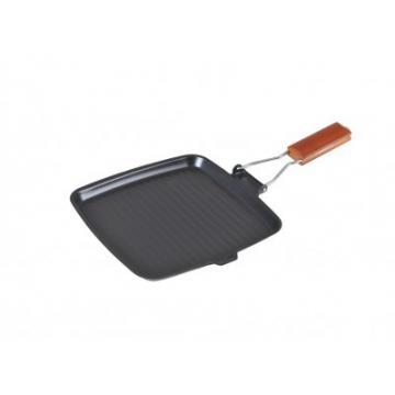 Tigaie grill otel carbon, 24 cm, maner detasabil