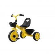 Tricicleta pentru copii Jolly Kids,galben