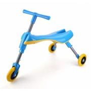 Tricicleta pliabila Jolly Kids fara pedale  60 x 33 x 39 cm, Albastru