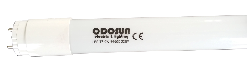 Tub neon cu LED 9W/220V/6400K 588mm (Cap  Ajustabil)