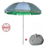 Umbrela cu suport, deschidere 280 cm,43x43x24 cm