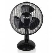 Ventilator de birou Floria,26 cm,25 W, 2 trepte,functie oscilare